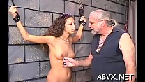 Intensive bondage with older Thumbnail