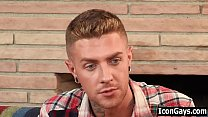 Watch Step father fucking son after their reunion | gay sex of dad and stepson preview