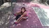 Reality teen fucked and jizzed for cash after p...