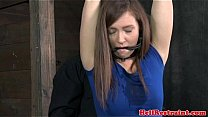 Mouth gagged submissive getting punished's Thumb