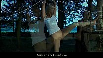 Sexy blonde hard tormented in the twilight Thumbnail