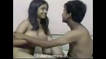Horny Indian Girl with her BF in a hotel room a...