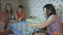 18videoz - Two hot and depraved teen couples