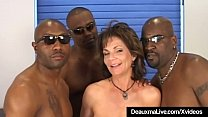 Anal Banging Cougar Deauxma is plowed in all he...