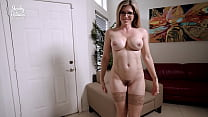Hot Mommy Drinks all step Sons Cum and begs for...