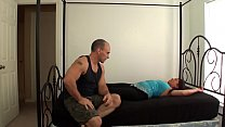Watch Alexis gets fucked by her step son and creampied preview