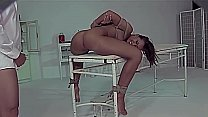 Humiliation with his foot, hard whipping, and c...