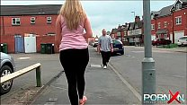 PornXN Big ass babe pissing in public on the street's Thumb