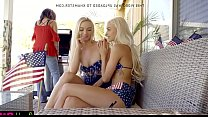 Bffs sneak fuck big brother at july 4th hot fam...