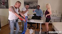 Anal inspectors fill Vittoria Dolce's asshole, ...