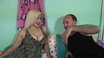 Hot blonde fucks the unknown out of the fetish ...