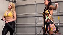 Whipped by Amazons - Flogging and Spanking by H...