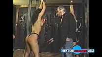 two cute retro girls spanked and dominated