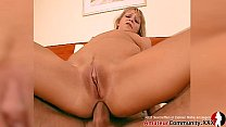 Hard anal lesson for naughty Debby with double ...