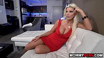Watch Hot step mom fucks son because dad is busy preview
