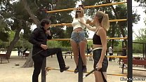 Mona Wales and Steve Holmes dominating and disg...