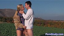 Watch Amateur eurobabe fucked in farm field preview