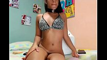 black young girl solo cam Thumbnail