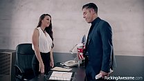 Horny Assistant Abigal Mac Wants Hot Load On He...