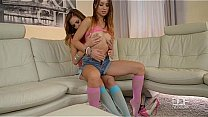 Candy Sweet and Taylor Sands in Panthyhose Fetish's Thumb