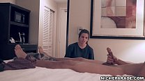 NICHE PARADE - Small Housekeeper Jerks Off Hote...