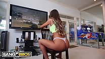 BANGBROS - Video Gamer Chick August Ames Takes ...
