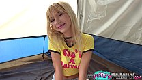 Kenzie Reeves Has Sex in Tent in the middle of ...