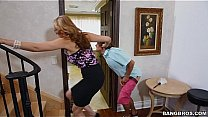 Fucked maid_as mom caught sneaking Thumbnail