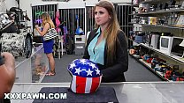 XXXPAWN - Ivy Rose Flashes Her Tits At Pervy Pa...