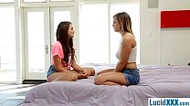 Watch two teen lesbians first time sex preview