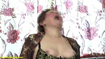 horny bbw hairy granny gets extreme rough doggy...