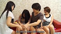 Watch Japanese amateurs having group_sex party with Subtitles preview
