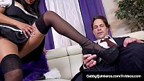 Watch MexiMilf & French Maid? Gabby Quinteros cleans homes pretty good but not as well as she cleans her Boss' Hard Cock! Full Blown Sex Service! Full Video & Gabby Quinteros Live @ GabbyQuinteros.com! preview