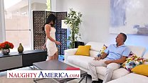 Naughty America - Tia Cyrus visit's friend's ho...