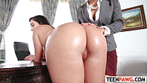 Les Big Booty Keisha Grey and Karlee Grey's Thumb