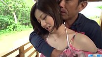 Hot japan girl Minami Asano in beautiful outdoor porn video Thumbnail