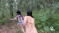 Hot Threesome in the Forest 2