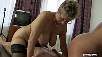 Mature amateur Germans enjoy a strong cock