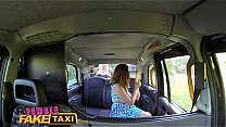 Watch Female Fake Taxi_Wild lesbians share a_massive dildo in thier wet pussies preview