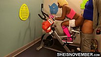 4k Deep Anal For Hot Black Girl On Gym Bike , Msnovember Getting Butt Fucked By Old Man Boxing Coach Getting Her Booty Fit With Unusual Training , Screaming From Pain Getting Pounding With Hardcore Dick From Behind HD Sheisnovember صورة