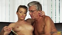 DADDY4K. Beautiful lady has hot sex with old ma...