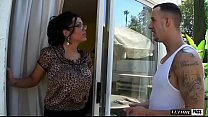 Chris Strokes Visits Sienna West And Things Get Heated Into An Ass Eating Frenzy!