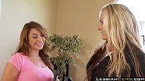LesbianCums.com - Mom and Daughter Lesbian Fantasies in Home's Thumb