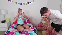 Natalia celebrated her 18th birthday with a qui...