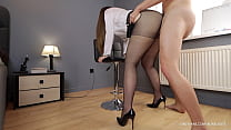 Wife after work cheats with boss through pantyh...