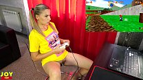 Petite Blonde Plays A Game To Orgasm - Monster ...