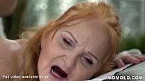 Surprise Happy Ending Massage for Horny Bored Granny's Thumb