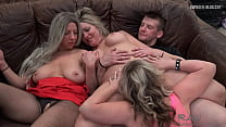 Horny amateur housewives sucking and riding har...