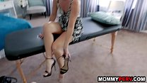 Watch Stepson puts whole hand inside mom's pussy during massage preview