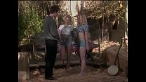Redneck finds two youbg beautiful blondes playi...